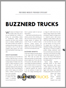 Sandhills Publishing Truck Paper Preferred Partner Buzznerd Trucks Article